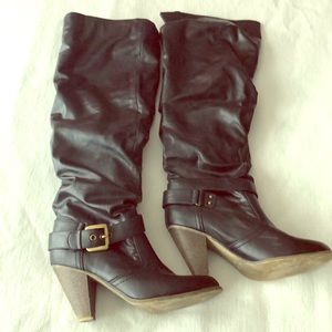 Aldo knee high boot size 39